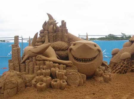 Cool sand structure