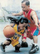 Funny pictures : Midget basketball