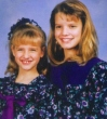 Funny pictures : Ashley & Jessica Simpson As Kids