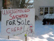 Funny pictures : Unassembled Snowman