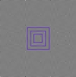 Optical illusions : Perfect squares