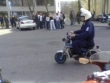The new police motorcycle