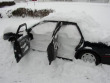 Funny pictures: Automobile snowed in