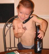 Funny pictures : A Young Rockstar in the Making