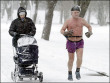 Funny pictures : Winter Exercise