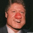 Funny pictures : Clinton has a big nose