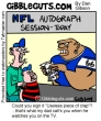 Funny pictures : Nfl autographs