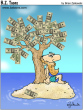 Funny pictures : Money tree