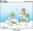 Funny pictures : Fallen angel