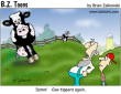 Funny pictures : Cow tippers