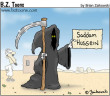 Funny pictures : Saddam reaper