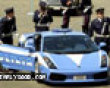 Funny pics mix: Itialian police car picture
