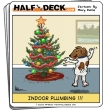 Funny pictures : Christmas cartoon - indoor plumbing