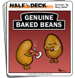Funny pictures : Genuine baked beans