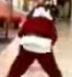Funny videos : Santa robbery video