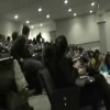 Stupid videos: College dude goes crazy in class