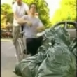 A funny wheel chair prank