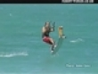 Funny videos : Flying surfer