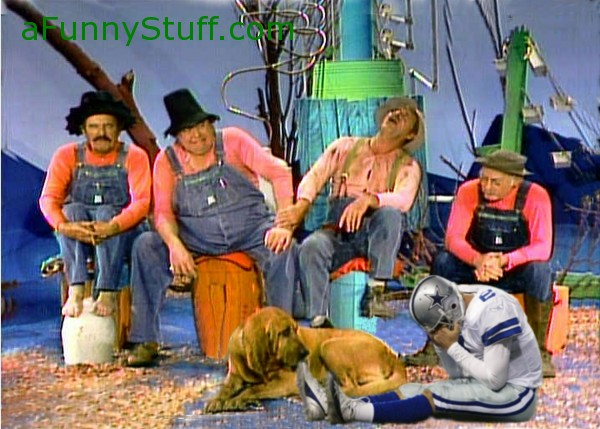 Funny pictures : Tony Romo guest appearance on Hee Haw