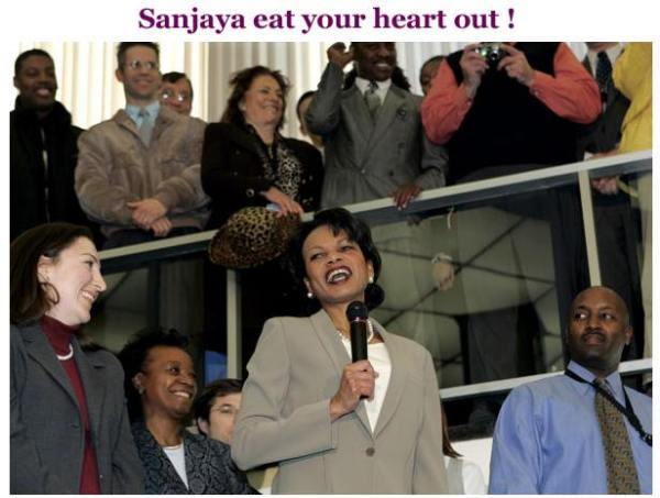 Funny pictures : sanjaya condi.