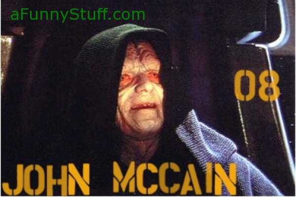 Funny pictures : John Mccain is the Emperor