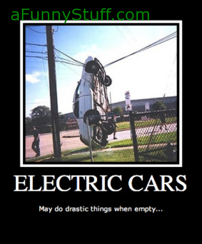 Funny pictures : Electric Cars