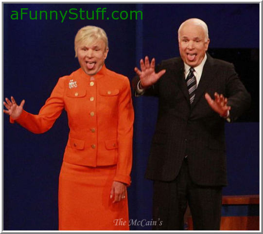 Funny pictures : The McCain's