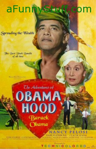 Funny pictures : Obama Hood