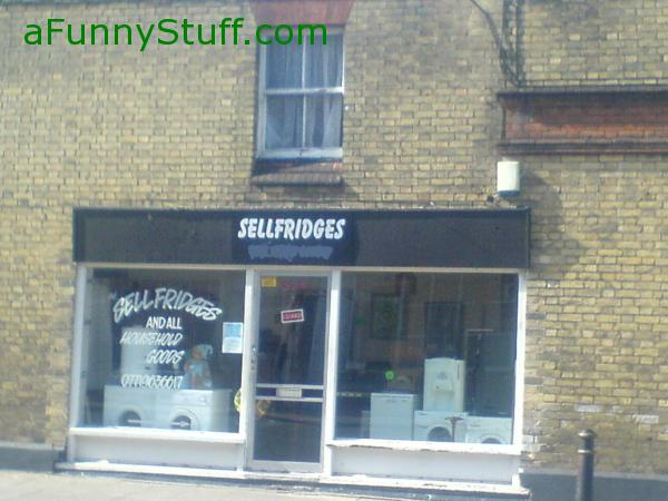 Funny pictures : Selfridges