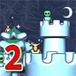 Shooting games: Snow fortress attack 2