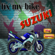 Photo puzzles : Fix my Bike Suzuki