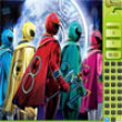 Photo puzzles : Power Rangers Find the Numbers