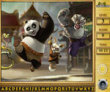 Photo puzzles : Kung Fu Panda Find the Alphabets