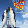 Photo puzzles: Happy Feet Find the Alphabets