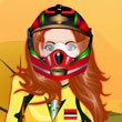 Street racer girl dress up