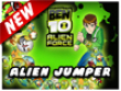 Action games : ben10  Alien force: Alien Jumper
