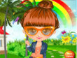Free games : Ht83 cute girl in the garden dress up