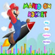 Free games : Mario on Rocket-2
