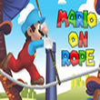 Classic arcade: Mario on Rope