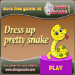 Free games: Dress up pretty snake