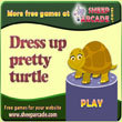 Free games: Dress up pretty turtle