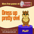 Free games: Dress up pretty owl