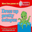 Free games : Dress up pretty octopus