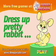 Dress up pretty rabbit