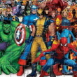 Photo puzzles : Fighting Heroes Jigsaw