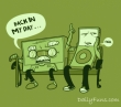 Funny pictures : old vs ipod